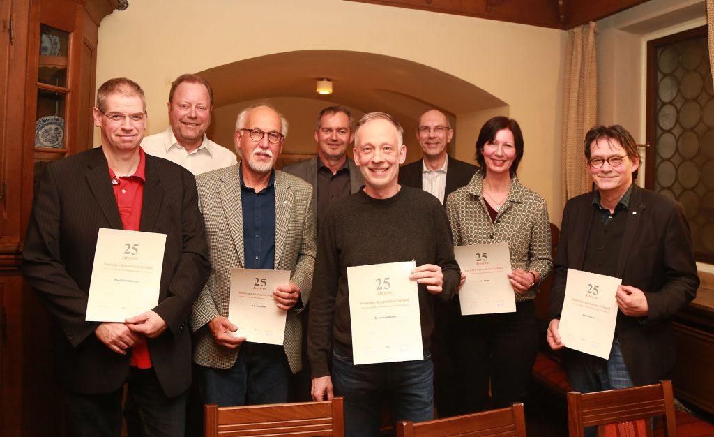 Klaus Schultebraucks, Rüdger Hagenbucher, Peter Jablonski, Martin Bommersheim, Dr. Henri Hoffmann, KB, Ina Daniel, Martin Busch. Foto: Anja Cord